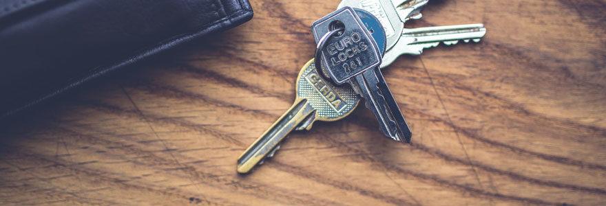 double de ses clés
